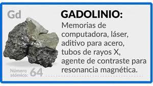 Configuración electrónica del Gadolinio